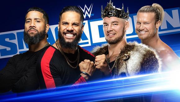 The Usos reaparecerán en SmackDown para chocar contra King Corbin y Dolph Ziggler en un duelo por parejas. (Foto: WWE)