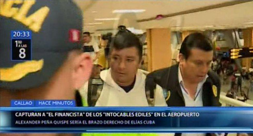 Alexander Peña Quispe aseguró a Canal N que se entregó de forma voluntaria a las autoridades ante la orden de detención que se dictó en su contra. (Foto: Canal N)