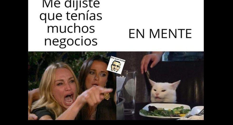 """""""Me dijiste que..."""", la historia detrás del meme de la mujer y el gato"""