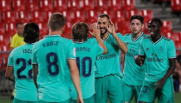 Real Madrid tiene 4 puntos de ventaja sobre el segundo, Barcelona