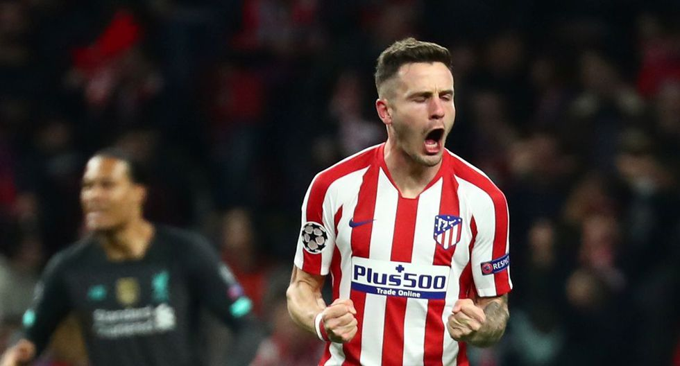 Gol de Saúl en Atlético vs Liverpool por Champions League
