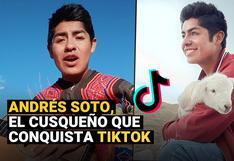 Andrés Soto, el joven cusqueño que es furor en Tiktok