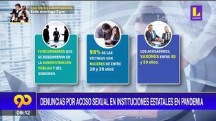 Gobiernos locales y sector educación registran mayor número de casos por acoso sexual en pandemia