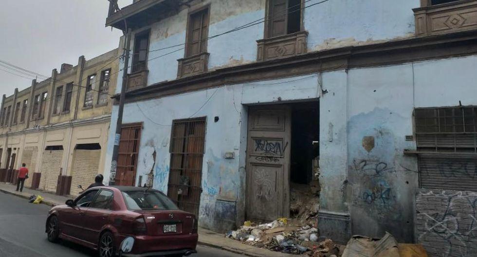 Ministerio Público solicitó a la Municipalidad Metropolitana de Lima y al Ministerio de Cultura acciones para la recuperación del lugar. (Foto: Ministerio Público)