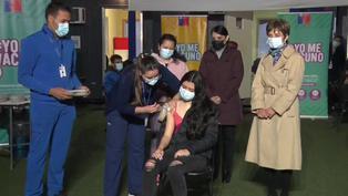 Chile: Comienzan los trabajos de vacunación a menores desde los 6 años