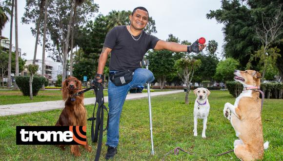 Ex militar emprende con proyecto de rehabilitación de perros