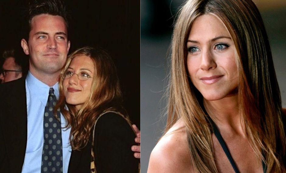 Matthew Perry envió un cariñoso saludo a su amiga Jennifer Aniston. (Foto: AFP)