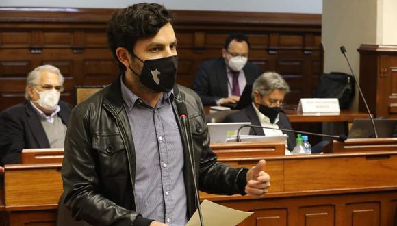 Congresista Daniel Olivares será investigado de forma preliminar tras revelar que consume marihuana. (Foto: Congreso)