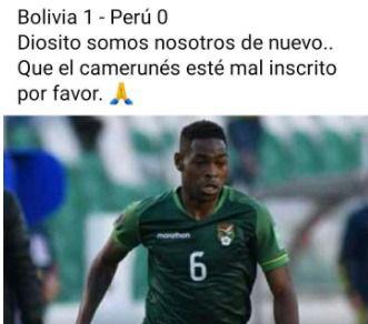 La derrota de Perú ante Bolivia dejó divertidos memes en redes sociales.