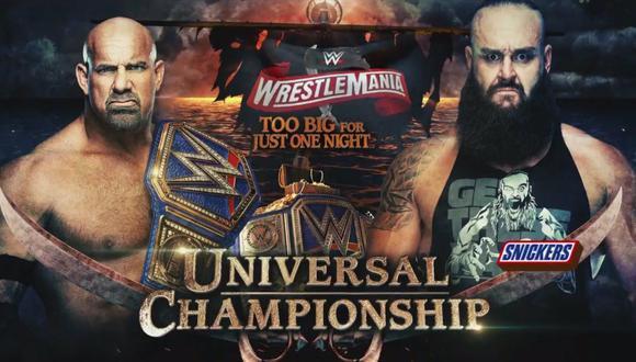 Goldberg le hará frente al 'Monstruo entre hombres'. (WWE)