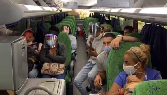 Policía informó que entre los extranjeros hay tres menores de edad. (Policía Nacional del Perú)