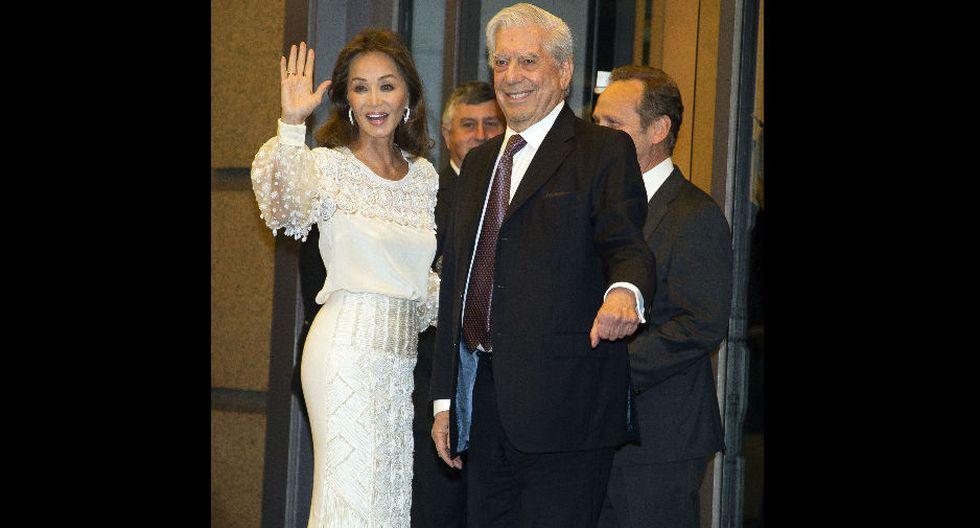 Mario Vargas Llosa e Isabel Preysler ganan millones con su romance.
