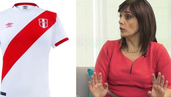 Patricia del Río contó la verdadera razón por la que no usa la camiseta de la selección.