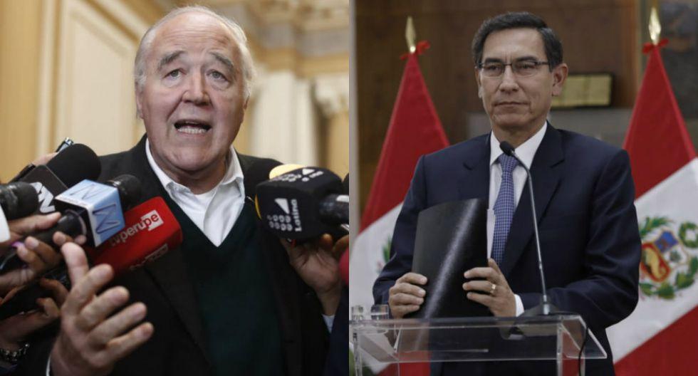 Víctor Andrés García Belaúnde dijo que cuestión de confianza planteada por Martín Vizcarra es improcedente. Foto: GEC
