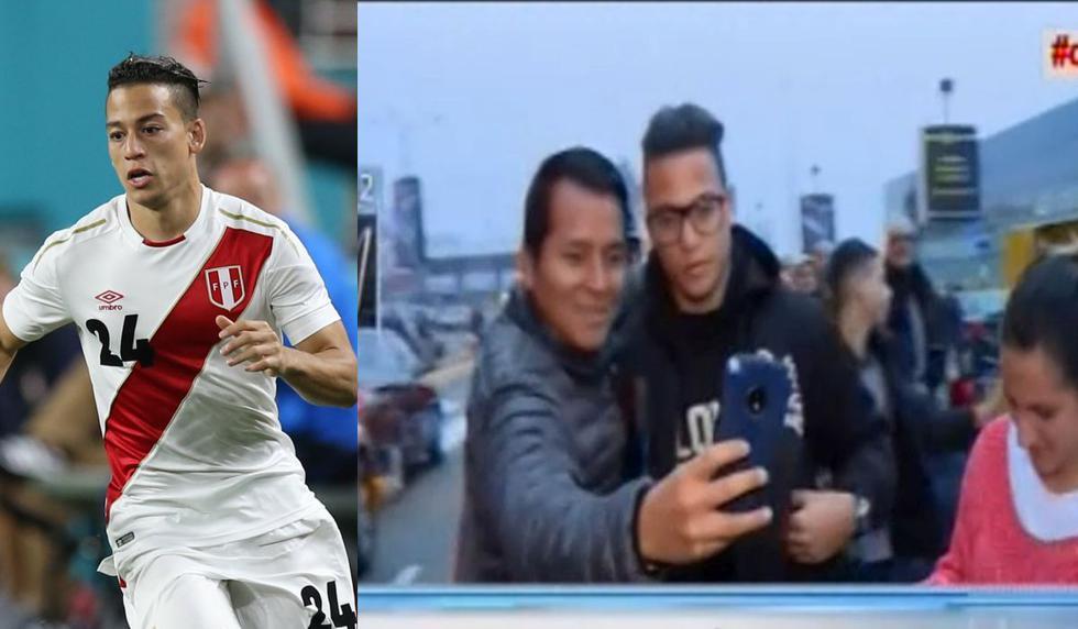 Cristian Benavente arribó a Lima y estará presente en el Perú vs Escocia