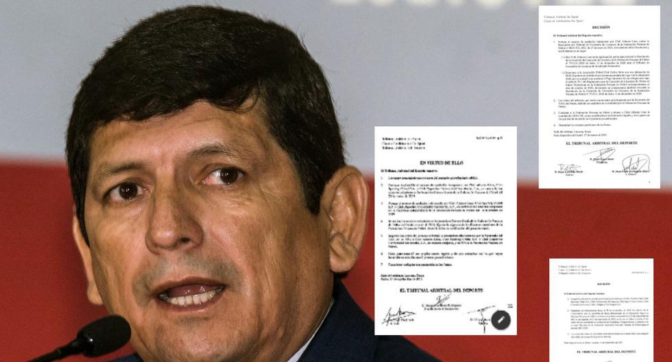 FPF: los 3 procesos ante el TAS que perdió Agustín Lozano en 2021