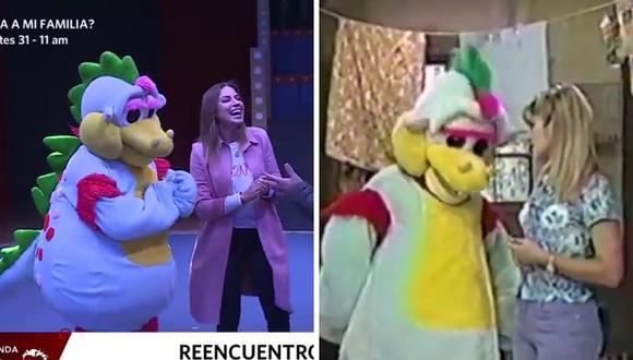 Karina Rivera y Timoteo contaron que los niños se sintieron escuchados en su programa, por eso creen que triunfó. (Foto: Captura América TV)
