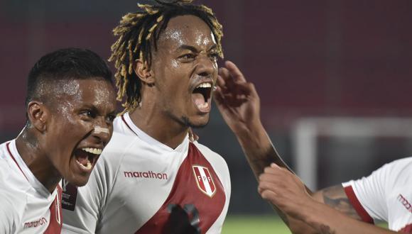André Carrillo celebra doblete en el Perú vs. Paraguay por Eliminatorias Qatar 2022