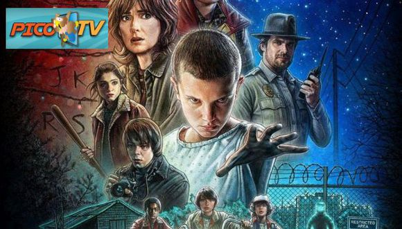 Stranger Things, una de las series favoritas de El 'Búho'.