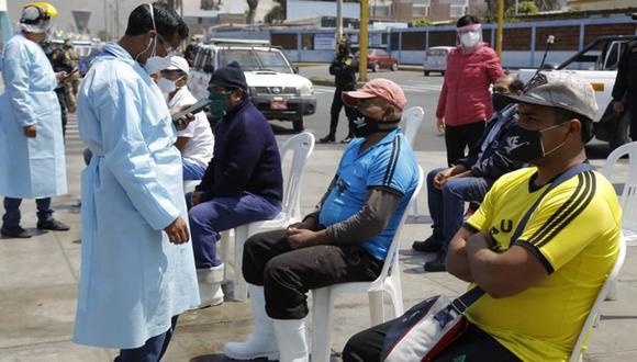 Áncash: los pescadores infectados serán monitoreados por el personal de salud mediante llamadas telefónicas. (Red de Salud Norte Áncash)