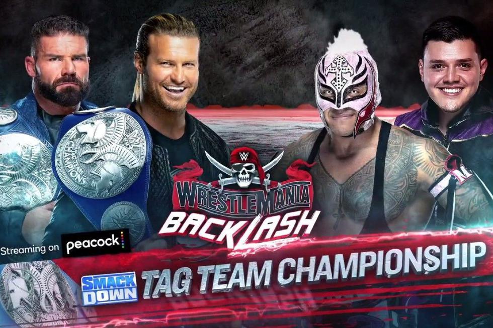 Rey Mysterio y su hijo Dominick lucharán por los títulos en pareja de SmackDown contra Robert Roode y Dolph Ziggler. (WWE)