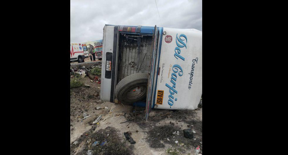 Choque frontal entre dos buses interprovinciales deja al menos 10 fallecidos y 33 heridos en vía de ingreso a Arequipa. (Fotos: Pedro Torres)
