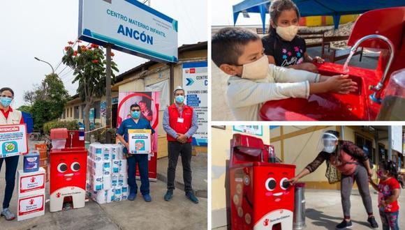 Donan lavamanos para Ancón y Santa Rosa.