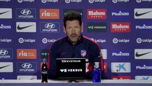 """Simeone: """"No hay ningún tipo de excusa"""""""