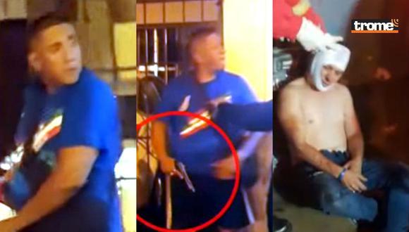 Venezolano golpea a peruano con cacha de su arma y huye (Trome)