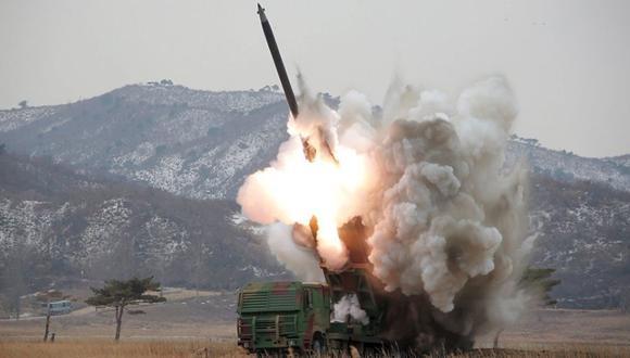 El Pentágono se pronunció por el lanzamiento de misil de Corea del Norte.