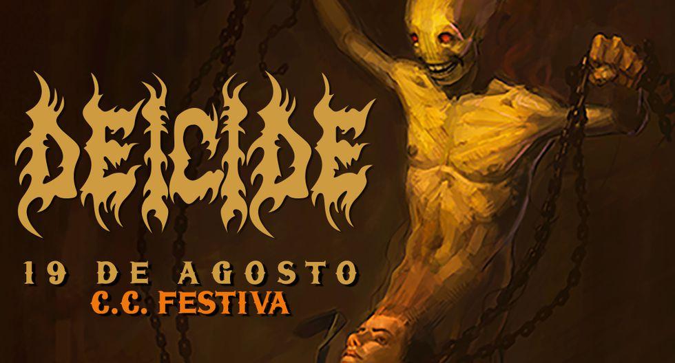 Los pioneros del Death Metal de Florida tendrá una brutal presentación el sábado 19 de agosto en el Centro de Convenciones Festiva. Deicide llega al Perú como parte de su gira 'In The Minds of Evil Latin American Tour 2017'.