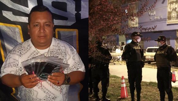 Chichero Juancho Peña fue acusado de presentarse en discoteca, pese a que están prohibidas las reuniones sociales. (Redes sociales/GEC)