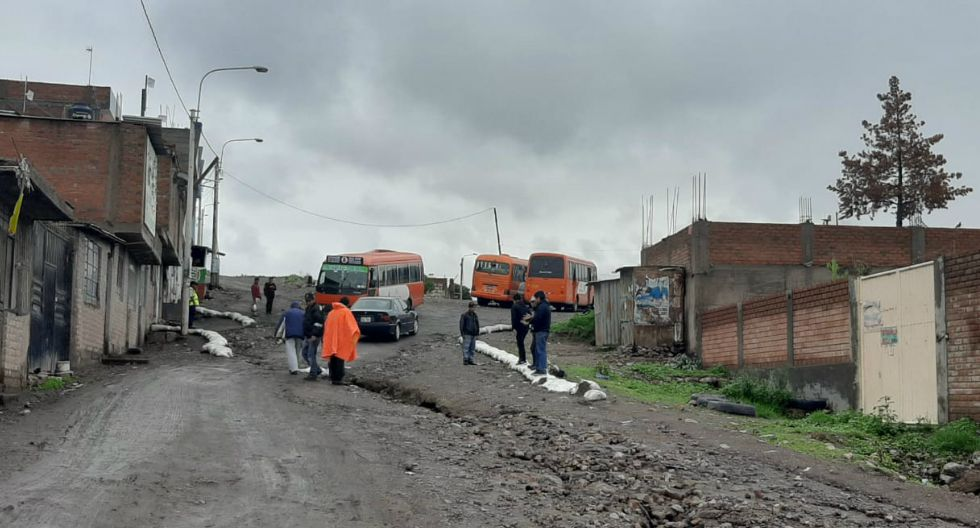 Arequipa: Más de 20 viviendas resultaron inundadas en el distrito de Cerro Colorado (GEC)