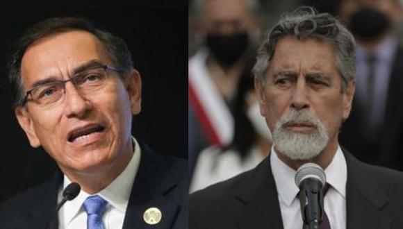 Martín Vizcarra criticó al presidente Francisco Sagasti. (GEC)
