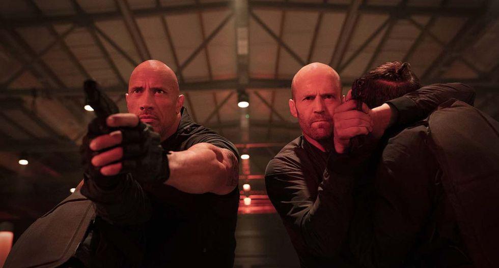 """""""Hobbs & Shaw"""" superó a cinta de Quentin Tarantino y """"El Rey León"""" en su primer fin de semana. (Foto: Universal Studios)"""