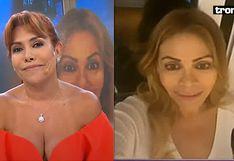 Gisela Valcárcel se baña cinco veces al día para que no le de coronavirus y Magaly Medina le dice que habla cantinfladas
