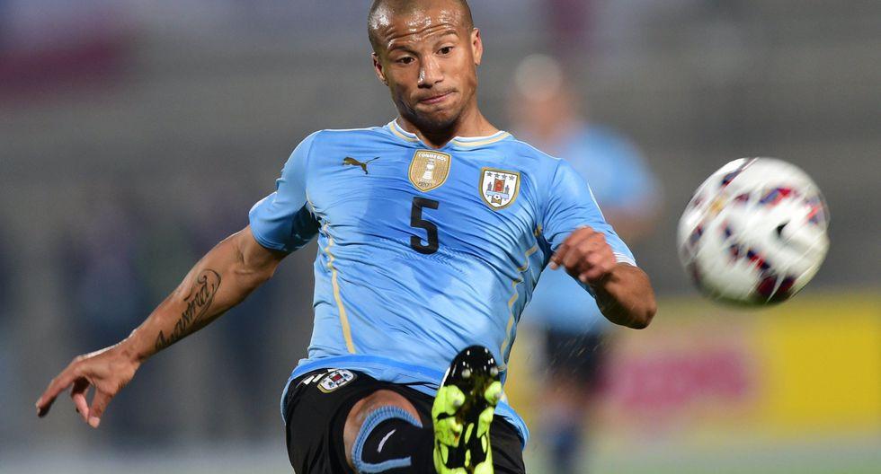 Carlos Sánchez - Uruguay. (Foto: AFP).