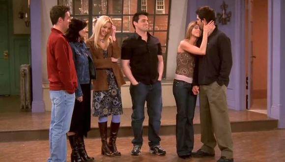 """Courtney Cox compartió foto de la última cena antes de grabar el episodio final de """"Friends"""". (Foto: NBC)"""