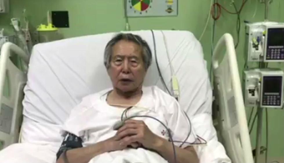 Alberto Fujimori pide perdón a quienes defraudó durante su gobierno.