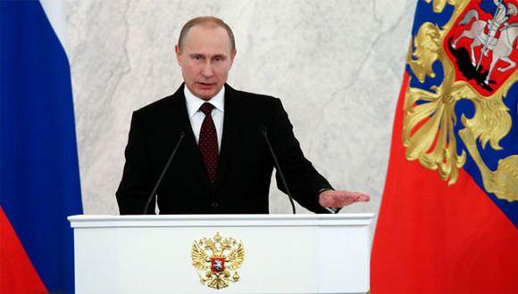 Vladimir Putin rechaza ataques