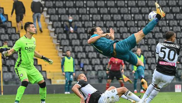 Zlatan Ibrahimovic es, con 7 goles, el máximo artillero de la Serie .A. (Foto: AFP)