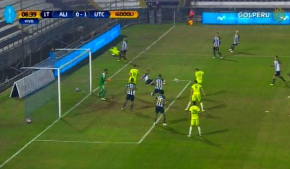 Alianza Lima vs UTC: Gol Donald Millán en Matute por el Torneo Apertura
