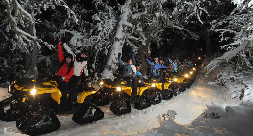 Dar un paseo nocturno por sus bosques es una actividad imperdible. (Foto: Municipalidad distrital de Bariloche)
