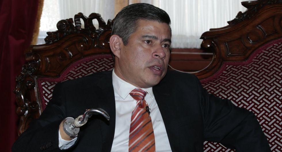 Luis Galarreta habló de todo con Trome en una entrevista exclusiva con Trome.