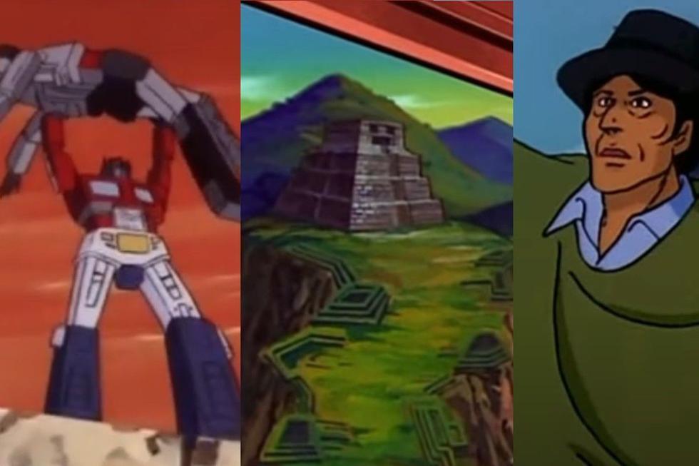 Los transformers llegaron al Perú en la clásica serie animada de los 80. (Captura YouTube)