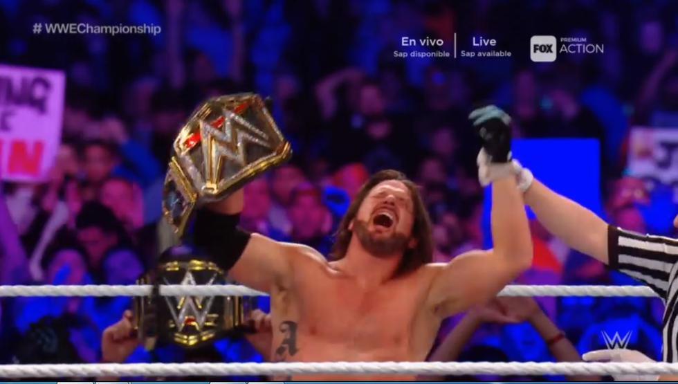 Otra gran presentación de AJ Styles y Samoa Joe en WWE. (Captura)