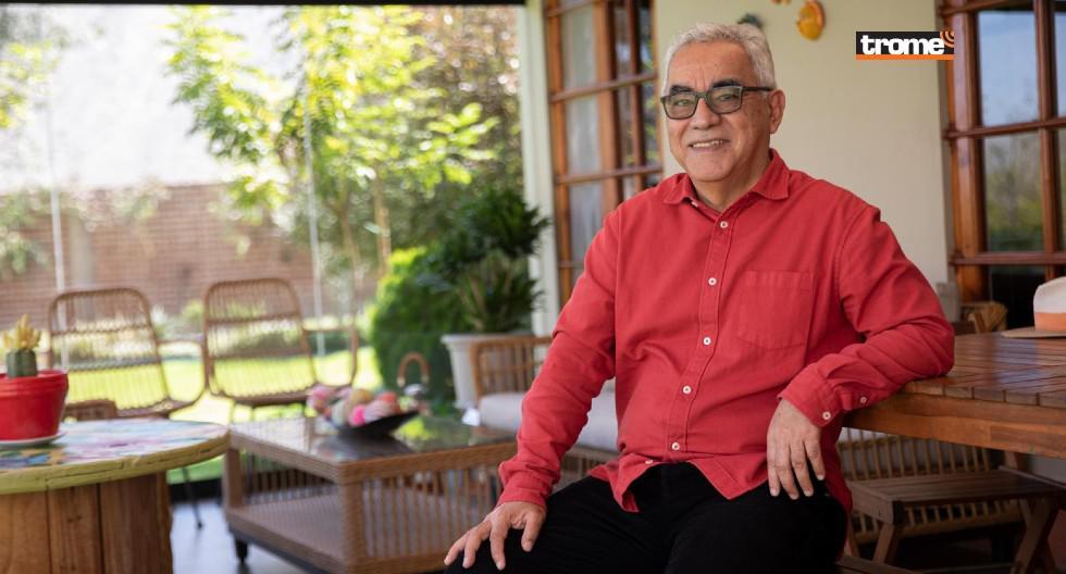 Rolando Arellano es presidente de 'Arellano Consultoría para crecer' y acaba de publicar  'El Tesoro. La aventura del pasado, presente y futuro del Perú'.  (Entrevista: Isabel Medina / Foto: José Rojas - Trome)