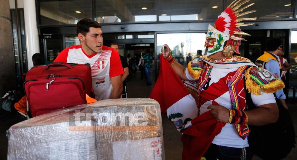 Selección peruana Sub 20 llegó a Chile para afrontar desde este viernes Sudamericano. Fotos: Photosport
