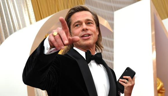 "Brad Pitt rodará la cinta de acción ""Bullet Train"" con el director David Leitch. (Foto: AFP)"