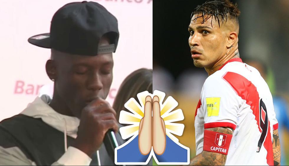 Luis Advíncula hizo rezar a todos por Paolo Guerrero para que esté en el Mundial Rusia 2018.
